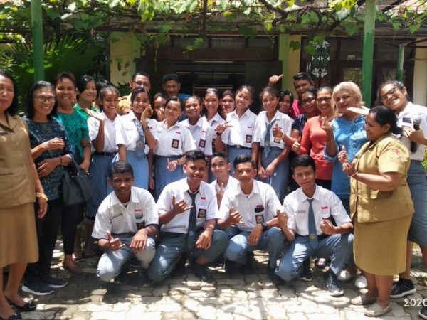 SMKN 4 Kupang Membentuk Seameo International Class